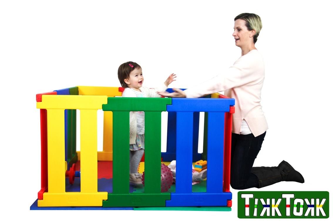 Kojec plastikowy, modułowy dla dziecka