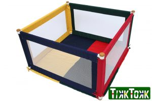 Kojec Pokano trójkolorowy kwadrat Image