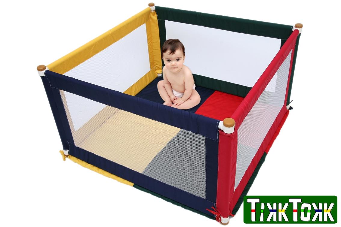 Kojec dla dziecka kwadrat
